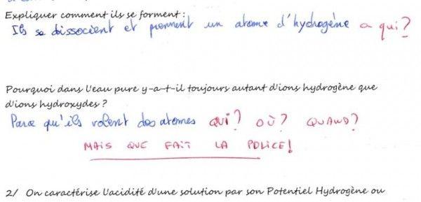 Top 20 des corrections de copies les plus drôles, les meilleures punchlines de prof | Topito