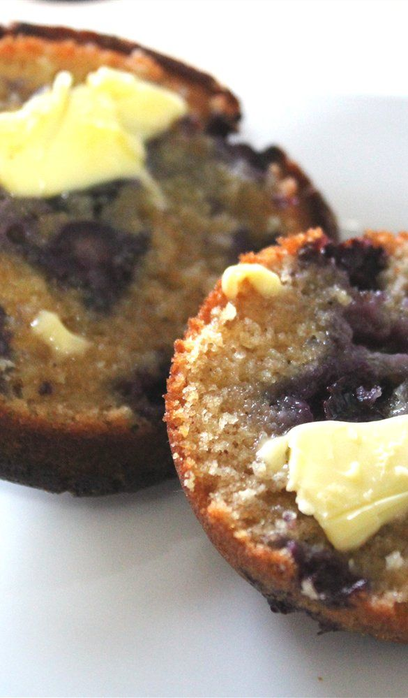 Annabel Langbein blueberry muffins.  Add a dollop of lemon curd inside or on top is a delicious additive too!