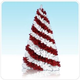 I Want Candy Cane Christmas Tree #red #redtree