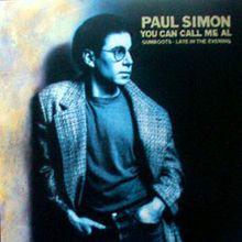 You Can Call Me Al - Paul Simon 1986 on the Graceland album.