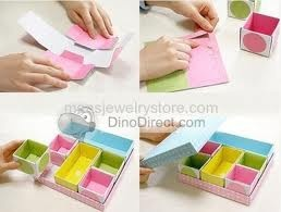 Paper jewelry boxCrafts Ideas, Diy Crafts, Crafts Room, Paper Crafts