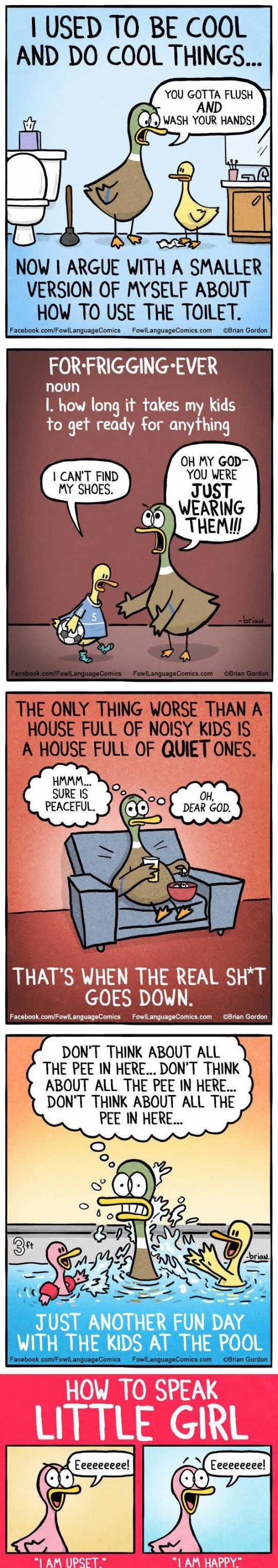 Parenthood In A Nutshell #lol #haha #funny