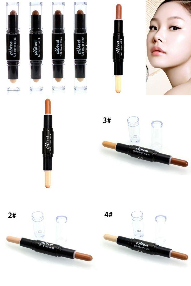 [Visit to Buy] Face Foundation Creamy Camouflage Concealer Pen Brand Eye Concealer Stick Facial Makeup Mineral Contour Concealer #Advertisement