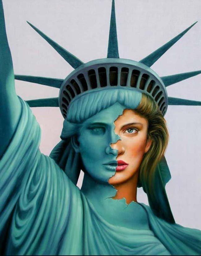 les 25 meilleures idées de la catégorie statue de liberté sur