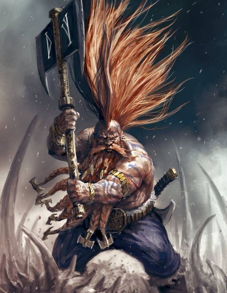 Have some epic dwarf beardage! Courtesy of the 8th edition Warhammer dwarf army book. Is beardage a word? Well, it is now! :)