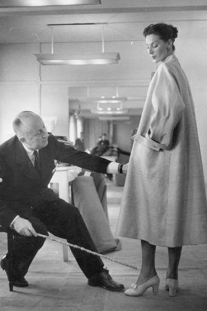 Christian Dior's waist-cinching, fan-skirted New Look caused a sensation in 1947.