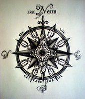 Google Image Result for http://th09.deviantart.net/fs71/200H/f/2012/350/c/6/true_north_compass_tattoo_by_desertdahlia-d5o7v7i.jpg