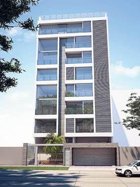 17 mejores ideas sobre fachadas de apartamentos en for Fachadas de garajes modernos