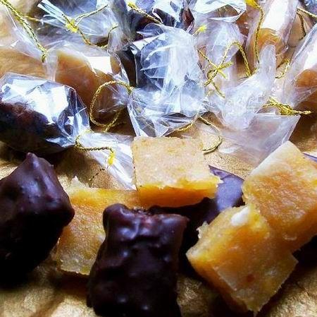 Egy finom Birsalmasajt-bonbon mandulával és narancshéjjal  ebédre vagy vacsorára? Birsalmasajt-bonbon mandulával és narancshéjjal  Receptek a Mindmegette.hu Recept gyűjteményében!
