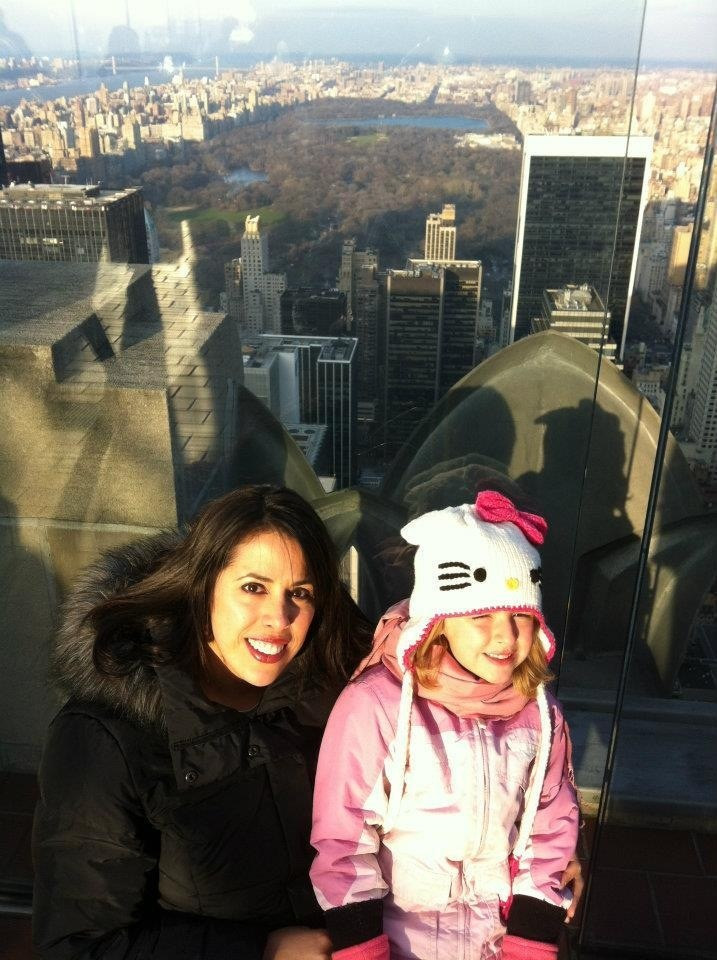 Top of the Rock ~ Rockefeller Center Observatory with a view of Central Park