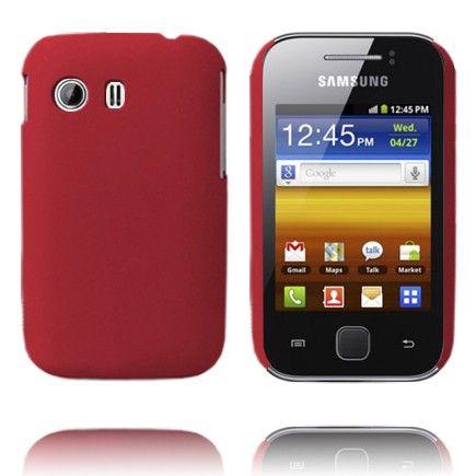 Hard Shell (Viininpunainen) Samsung Galaxy Y Suojakuori