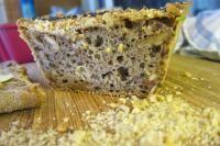 Chleb - najprostszy przepis - bez wyrabiania! (dieta wegańska)