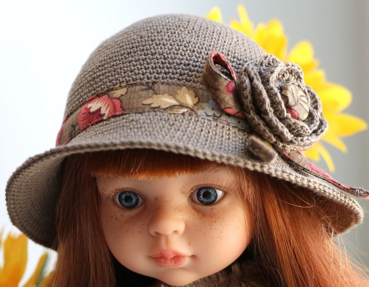 МК Авторская шляпка от Ольги Бабушкиной  - https://vk.com/topic-133927502_35455875