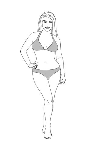my body type: Endomorph You're soft and feminine, reminiscent of the Renaissance's most lauded ladies. Your metabolism might feel like your biggest foe, but try focusing on your favorite body part and doing strength-training exercises to highlight it. Most women are endomorphs, but as you build muscle and burn fat, you might see a stronger secondary, or even primary, body type emerge.