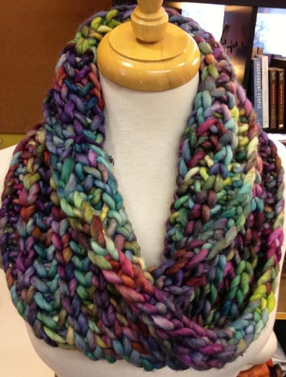 Super Bulky Brioche Cowl | This weekend, Stitches and Yarns