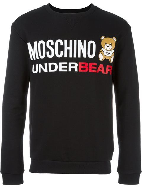 MOSCHINO Underbear Sweatshirt. #moschino #cloth #sweatshirt