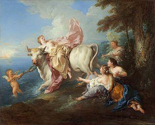The Abduction of Europa, Jean-François de Troy.jpg