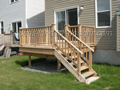 Small Deck Designs on small space living