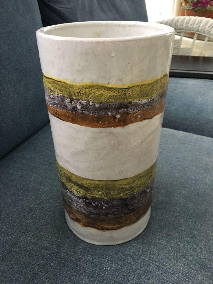 Large Raymor Pottery Vase