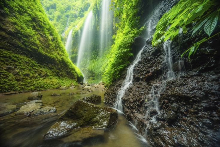 Did I mention the waterfalls? | 35 Gorgeous Pictures Of Indonesia That Will Take Your Breath Away