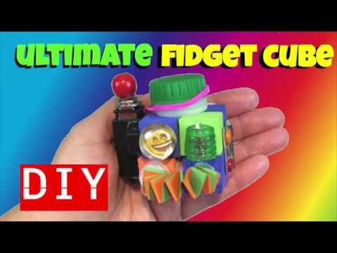 New Ultimate Diy Fidget Toys Diy Fidget Cube Fidget Toys For