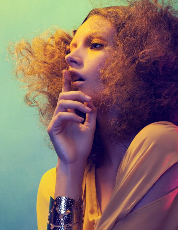 I Feel Love' Mona Johannesson by Mikael Schulz for Tush Spring 2011 [Editorial] - Fashion Copious