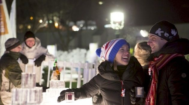 Michelle Winner provides tips on how to stay warm during the Winter Carnaval de Québec by drinking the traditional Caribou.