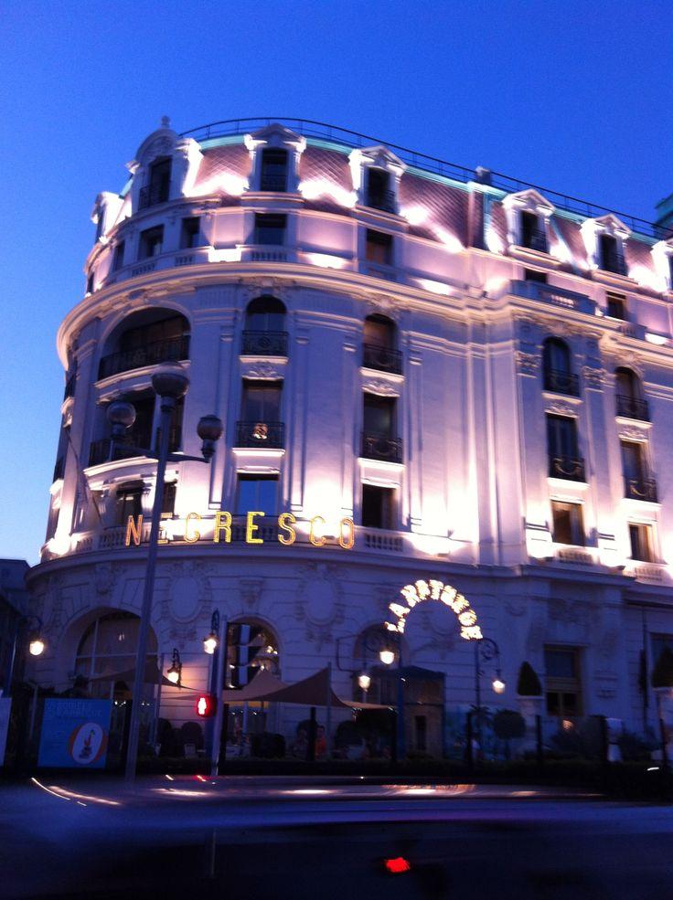 Hotel Negresco at night...Nice, France