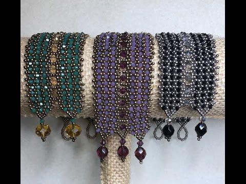 Interlaced bracelet ~ Seed Bead Tutorials