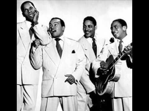 The Ink Spots - We'll Meet Again (I don't knowwhy, but this has always had a haunting quality to me. I expect it to be an end credits song some day in a horror film. And I love the Ink Spots, btw, so no rude comments.)