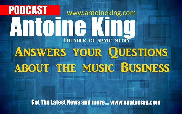 Spate Radio- The Hottest Hip Hop Radio Station Podcast Online: (Podcast) Antoine King Founder Of Spate Media Answ...