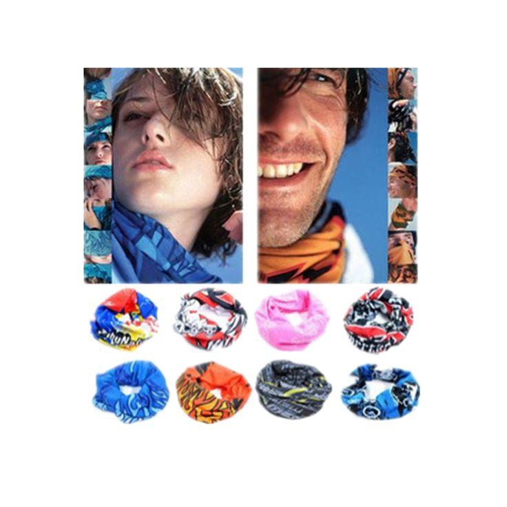 Cheapest 2017 Bicycle bandanas seamless bandanas washouts Riding mask bicycle scarf for men Cycling Bike Magic Sport Headband