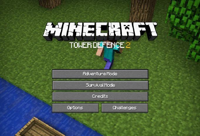 Minecraft Defensa de la Torre 2 - Bienvenidos a la segunda versión mejorada del juego online de Minecraft que tiene muchas nuevas funciones más que la primera versión