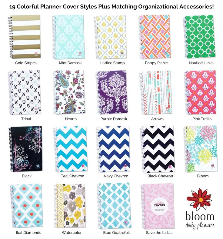 Amazon.com : bloom daily planners 2015-16 Academic Year Daily ...