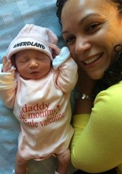 MSNBC Host Melissa Harris-Perry and New Orleans mayoral candidate James Perry have welcomed a new daughter into the world. The special baby girl was born on February 14 via  a surrogate! <3
