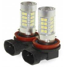 Sencart 2pcs H8 PGJ19 - 1 LED Car Headlight