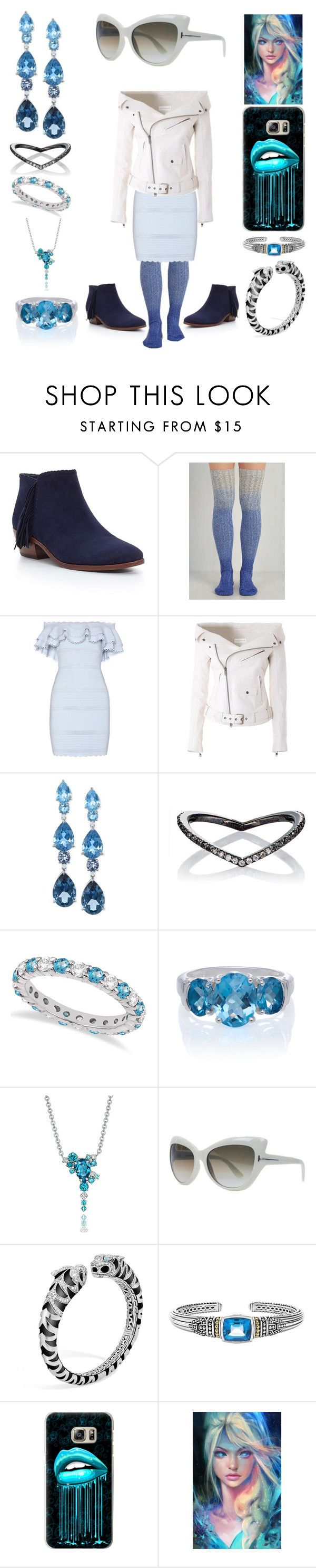 """""""Ice Queen"""" by creation-gallery on Polyvore featuring Sam Edelman, Alexander McQueen, Faith Connexion, LALI Jewels, Eva Fehren, Allurez, Lab, Tom Ford, John Hardy and Lagos"""
