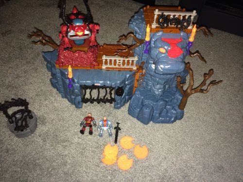 FISHER-PRICE-IMAGINEXT-DRAGON-KEEPER-DUNGEON-B8792-Castle-Prison