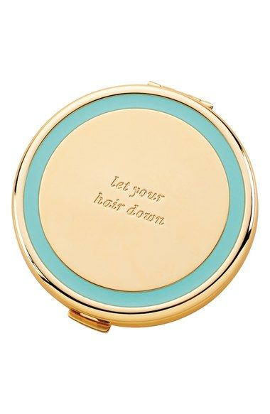 Kate Spade Holly Drive Compact Mirror ($30): Every desk could use at least a little bit of glam and this compact might as well be the gold standard of mirrors. Instead of tucking this little beauty away in your desk drawer, let it shine on top. The engraved mantra will remind you to work hard and play harder.