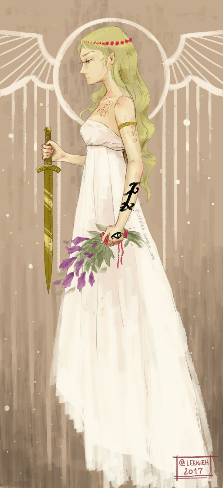 """leenieh: """" emma carstairs from cassie clare's 'the dark artifices' (can't wait for book 2!!) also, this was inspired by cassandra jean's art style, if you liked this, you'll definitely love her..."""