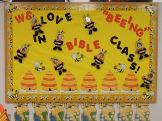 Hands On Bible Teacher: New Attendance Chart Board.... Time for Summer and Bee-ing in Bible Class