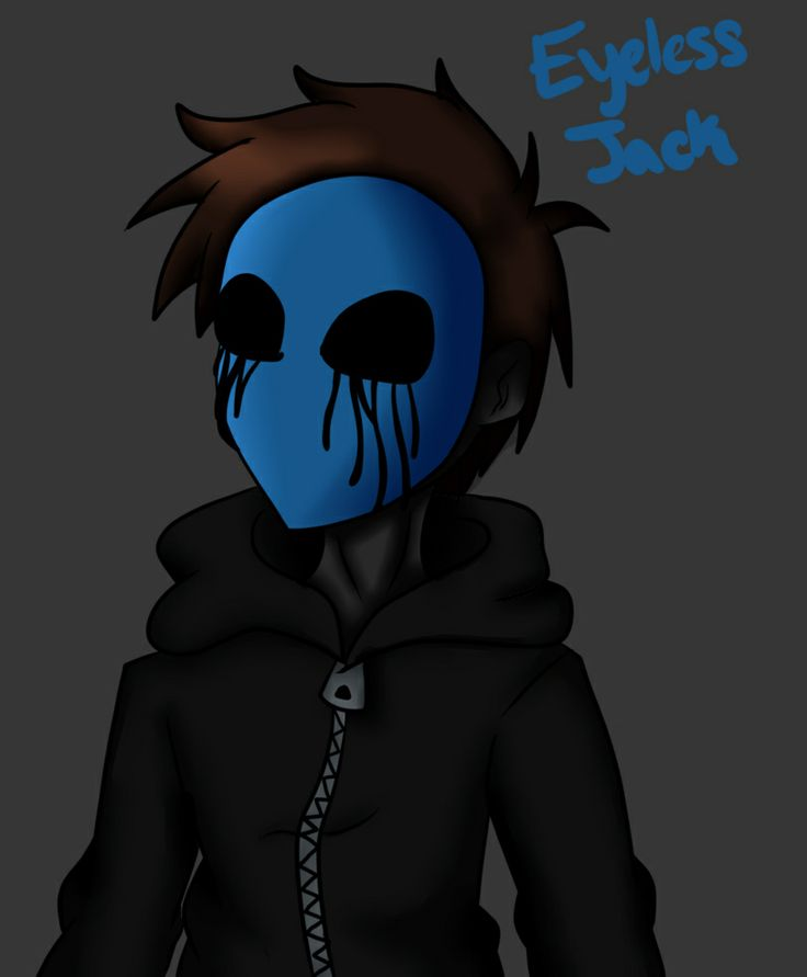Eyeless Jack... i have no clue why i like him!! he's cool... creepy pasta!