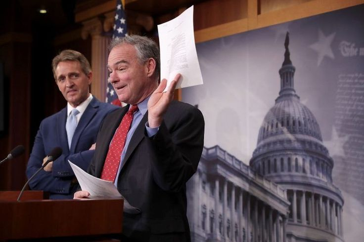 Tim Kaine: U.S. strikes on Syrian forces 'completely illegal'