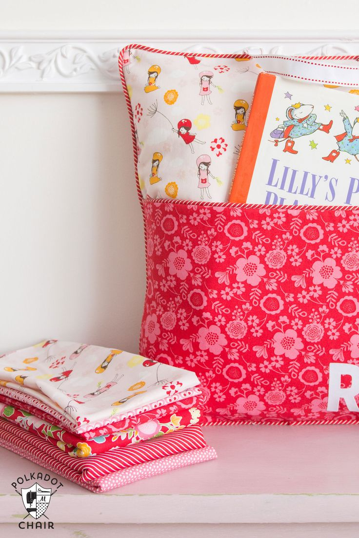 Horse shaped pillows for children - How To Sew A Reading Pillow