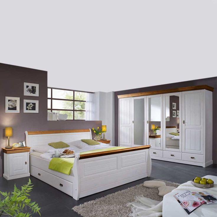 Die besten 25+ Schlafzimmer mit doppelbett Ideen auf Pinterest - modernes schlafzimmer komplett