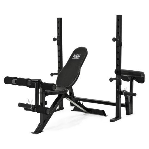Marcy Pro Two-Piece Olympic Weight Bench - Weight Benches at Hayneedle