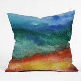 Found it at AllModern - Jacqueline Maldonado Leaving California Polyester Throw Pillow colors are pretty