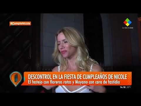 Presentación e ingreso accidentado: Nicole Neumann celebró su cumpleaños...