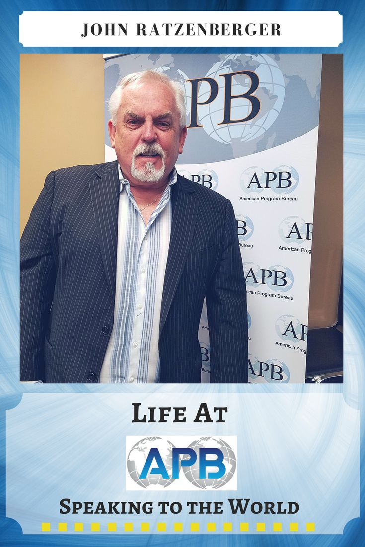 #Emmy-NominatedActor, #Director, #Writer, #Producer, #Inventor and #Philanthropist, John Ratzenberger, recently stopped by the APB office to discuss his future plans. http://www.apbspeakers.com/speaker/john-ratzenberger/