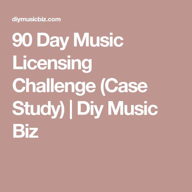 90 Day Music Licensing Challenge (Case Study) | Diy Music Biz